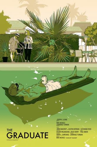 "The Graduate"" (Regular) par Tomer Hanuka"