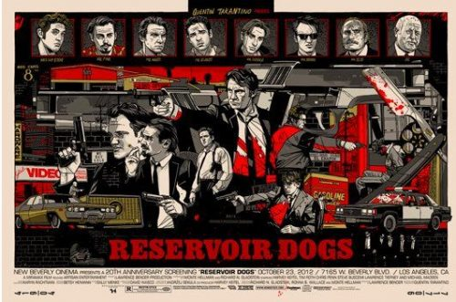"""Reservoir Dogs"" (regular) par Tyler Stout ."