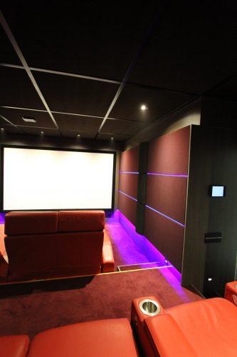 salle de cinema haut de gamme