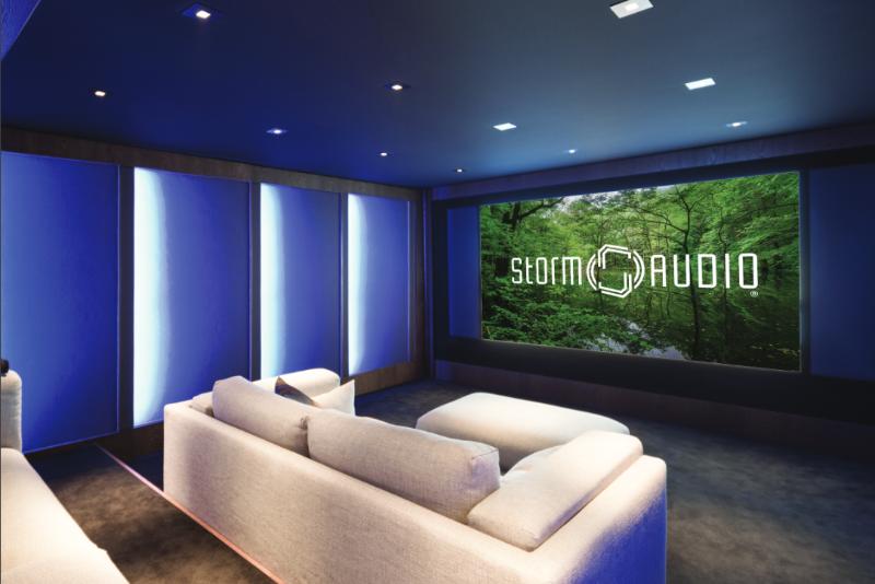 Installation De Cinéma Haut De Gamme à Domicile Art Sound