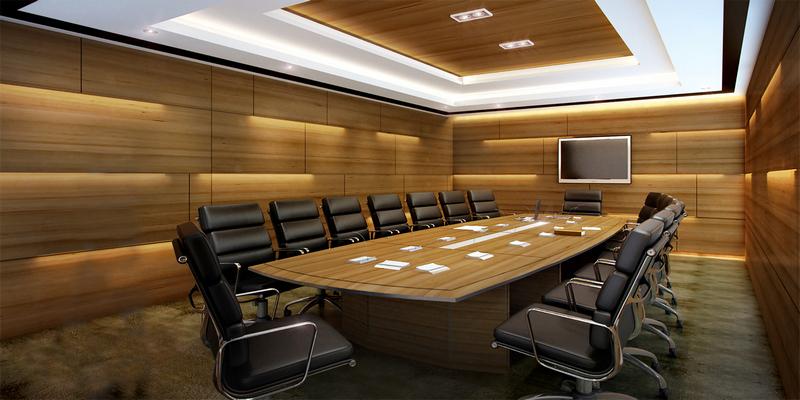 Salle de réunion avec videoprojection